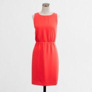 NWOT JCREW Pink Sleeveless Dress